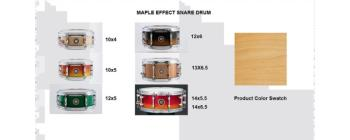 Effect Snare 10X05 Maple Natural (SA-SD1050MANAT)