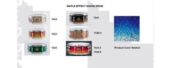 Effect Snare 10X05 Maple Ocean (SA-SD1050MAOCN)