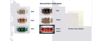 Effect Snare 10X05 Maple Vintage White (SA-SD1050MAVW)