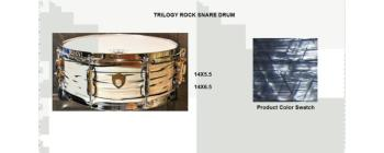 Trilogy Snare 14X6.5 Sky Blue Pearl (SA-SD1465TRSBP)