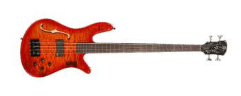 Spectorcore 4 AmberBurst, Lined Fretless (SP-SCORE4FLAMB)