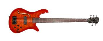 Spectorcore 5 AmberBurst, Lined Fretless (SP-SCORE5FLAMB)