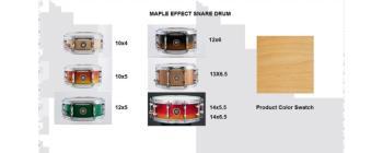 Effect Snare 12X05 Maple Natural (SA-SD1250MANAT)