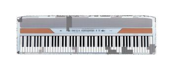 Korg's Popular Portable Piano Package in White (KO-SP250WS)