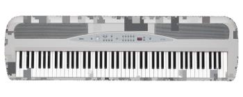 88 KEY DIGITAL PIANO W/SPEAKERS, STAND (KO-SP280WH)