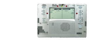 Metronome/Chromatic Tuner Combo (KR-TM40)