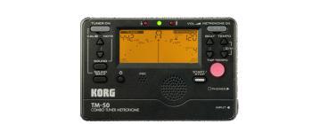Combo Tuner/Metronome w/Folding Stand - Black (KR-TM50BK)