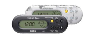 Metronome with Humidity/Temperature Detector (KR-HB1BK)